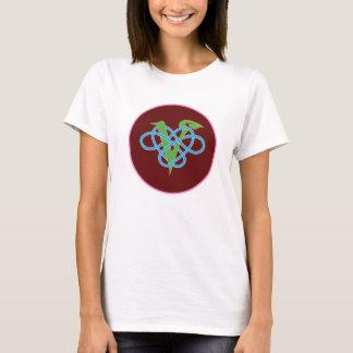 Celtic Vegan Polyamory Circle T-Shirt