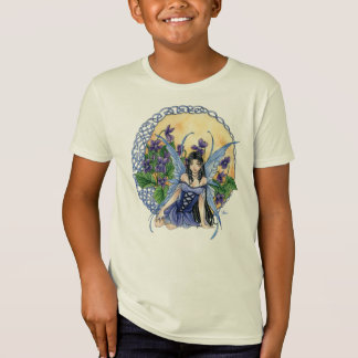 Celtic Violet Organic Kids T-shirt
