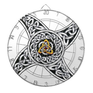 celtic-warriors symbol dartboard