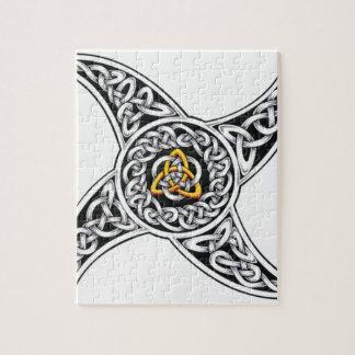 celtic-warriors symbol jigsaw puzzle
