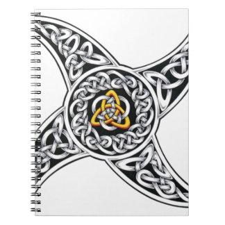 celtic-warriors symbol notebook