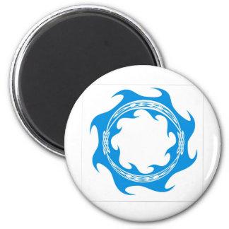 Celtic Wave Ring Fridge Magnet