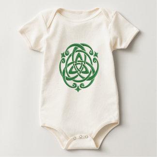 Celtic Wedding Knot Baby Bodysuit