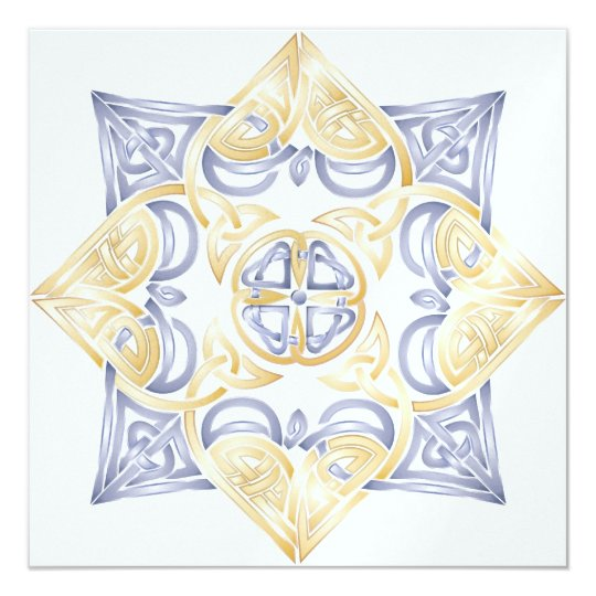 Celtic Wedding Knot Invitation (Traditional)
