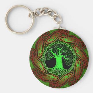 Celtic Wisdom Tree II Key Ring