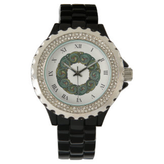 Celtic Wreath (numerals) Watch