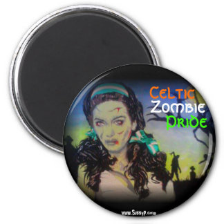 'Celtic Zombie Pride' Magnet