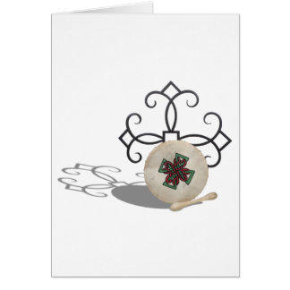 CelticDrum092610 Greeting Cards