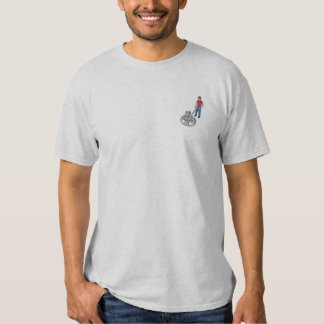 Cement Finisher Embroidered T-Shirt