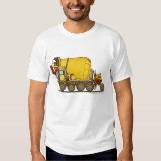 Cement Mixer Front Discharge Truck Construction Ap T Shirt