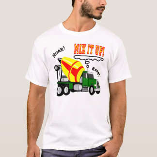 Cement Mixer Mix It Up! T-Shirt