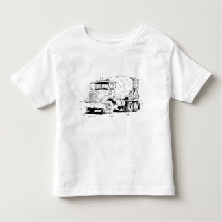 Cement Mixer Toddler T-Shirt
