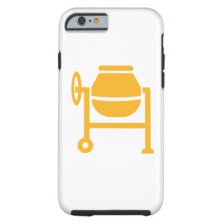 Cement mixer tough iPhone 6 case