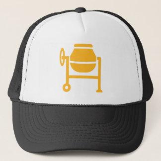 Cement mixer trucker hat