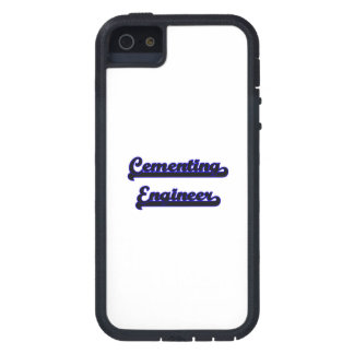 Cementing Engineer Classic Job Design iPhone 5 Cases