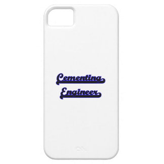 Cementing Engineer Classic Job Design iPhone 5 Covers