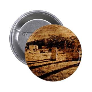 Cemetery 6 Cm Round Badge