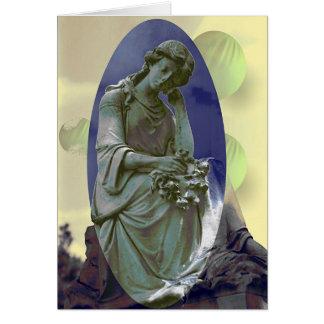 Cemetery Girl # 1 Card