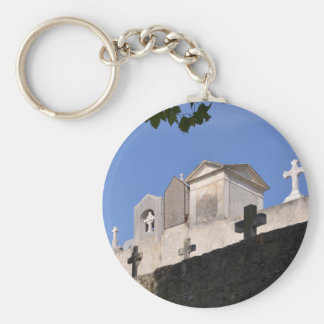 Cemetery in Menton Key Ring