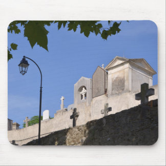 Cemetery in Menton Mouse Pad