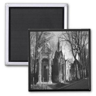 Cemetery Mausoleum Gothic magnet