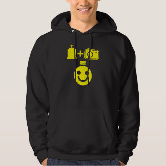 Cemetery Photography Smiley Hoodie