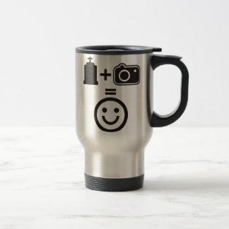 Cemetery Photography Smiley Travel Mug