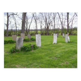 Cemetery Series Postcard