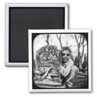cemetery show square magnet