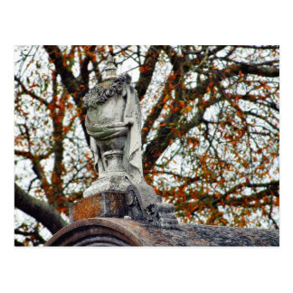 Cemetery Statues Vases Post Cards