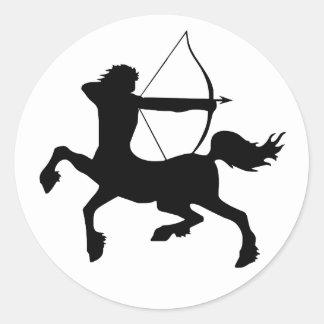 Centaur Classic Round Sticker