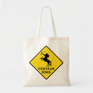 Centaur Crossing - sign Tote Bag