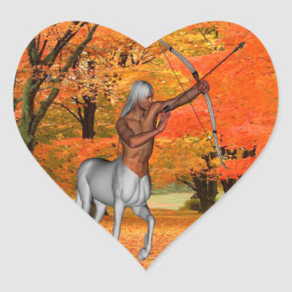 Centaur Heart Sticker