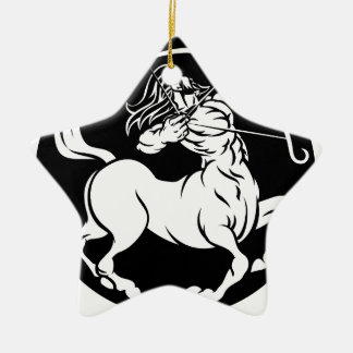 Centaur Sagittarius Zodiac Sign Ceramic Ornament