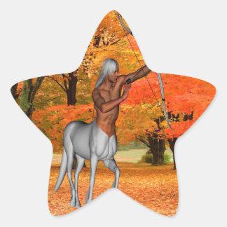 Centaur Star Sticker