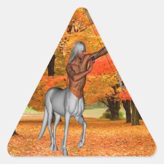 Centaur Triangle Sticker