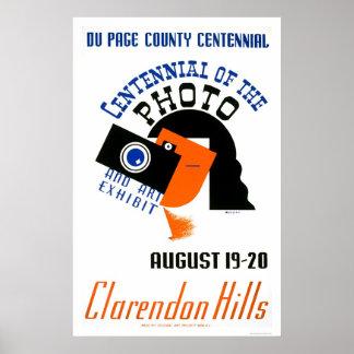 Centennial Art Photo 1939 WPA Poster