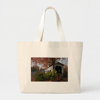 Centennial Covered Bridge, Cottage Grove, Oregon Tote Bags