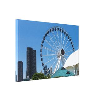 Centennial Ferris Wheel Canvas Print