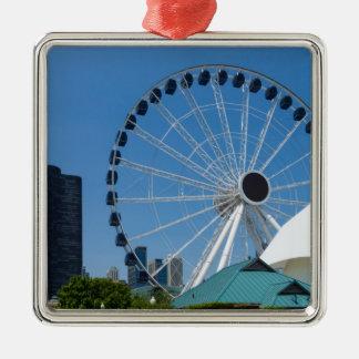 Centennial Ferris Wheel Metal Ornament