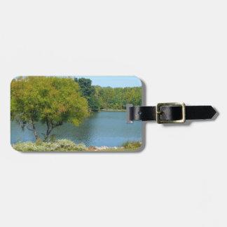 Centennial Lake in Ellicott City Maryland Luggage Tag