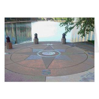 """Centennial Lakes Park """"Compass"""" Edina, MN Card"""