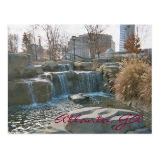 Centennial Park, Atlanta, GA Postcard
