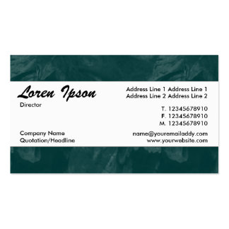 Center Band 010 - Petal Brushed Green Pack Of Standard Business Cards