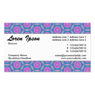 Center Band 01 Double-Sided Standard Business Cards (Pack Of 100)