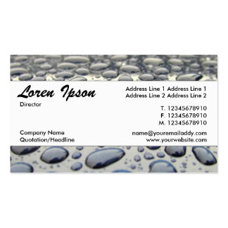 Center Band 025 - Car Hood Double-Sided Standard Business Cards (Pack Of 100)