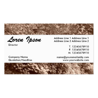 Center Band 036 - Trees by a Canal Business Card Templates