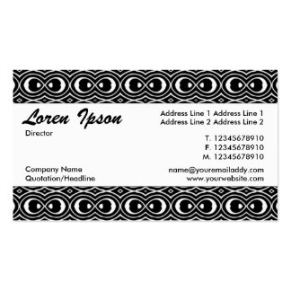 Center Band 048 Pack Of Standard Business Cards