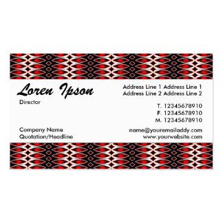 Center Band 04 Pack Of Standard Business Cards