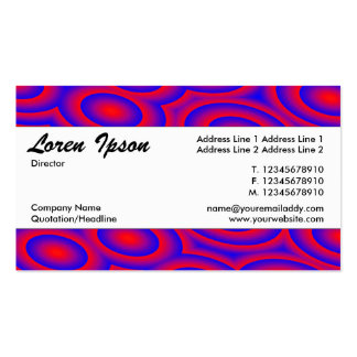Center Band 06 - Resonate Pack Of Standard Business Cards